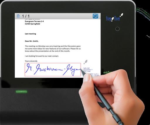پد امضاء الکترونیکی
