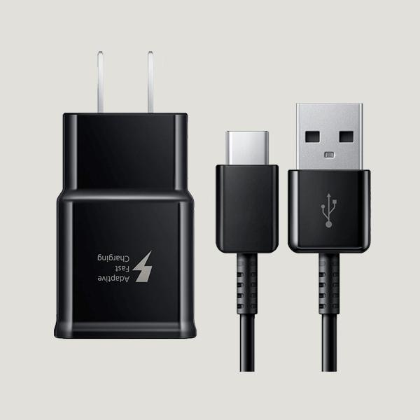 شارژر سامسونگ مشکی Fast Charge USB-C cable