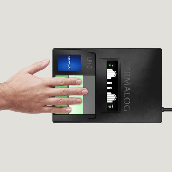 اسکنر پنج انگشتی اثر انگشت درمالوگ Dermalog Fingerprint Scanner